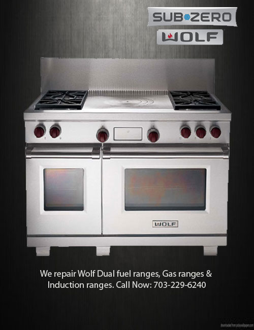 Wolf Is Well Known For Its Ranges. Their Dual Stacked Gas Burners Or  Induction Zones Provide Precise Control From High End To Low, While Wolfu0027s  Famed Dual ...