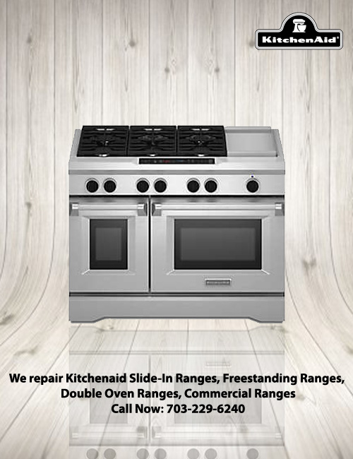 Great KitchenAid Cooktop And Range Repairs
