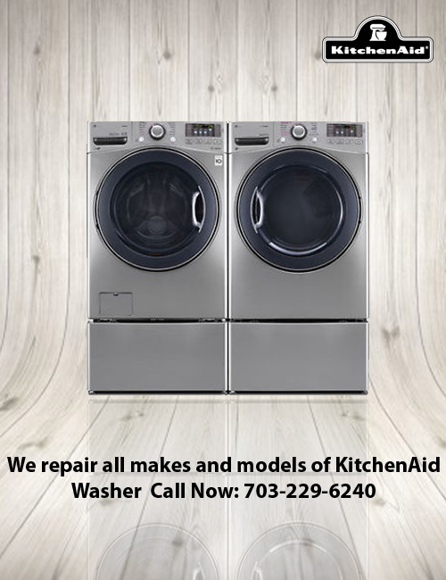 Kitchenaid Front Load Washer all kitchen aid appliances- repair techs in northern va, maryland