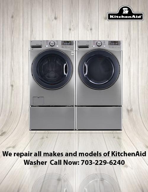 KitchenAid Clothes Washer U0026 Dryer Repair