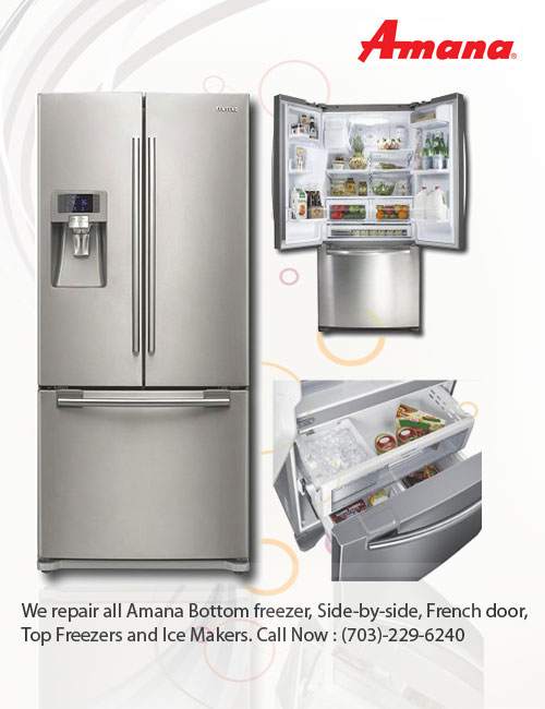 Amana Bottom Freezer Door