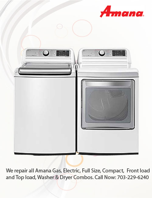 Amana appliance Repair techs in Northern VA Maryland DC