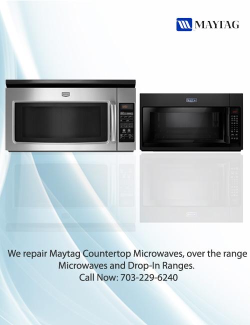 maytag microwave repair