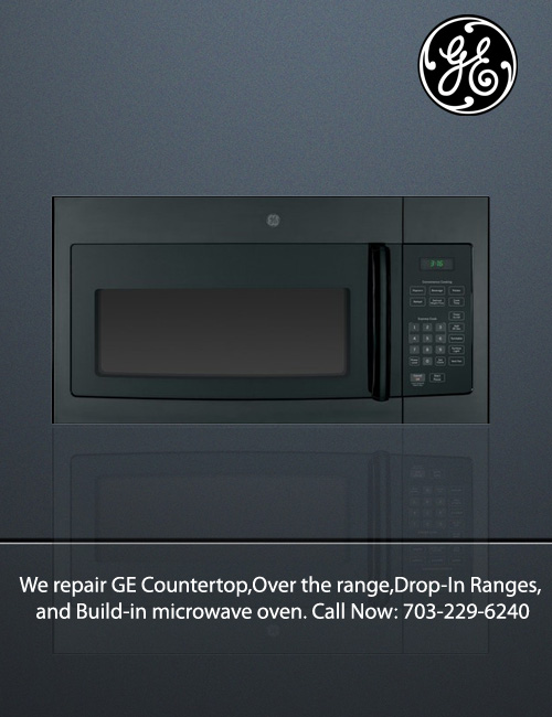 All GE appliance Repair techs in Northern VA, Maryland & D C